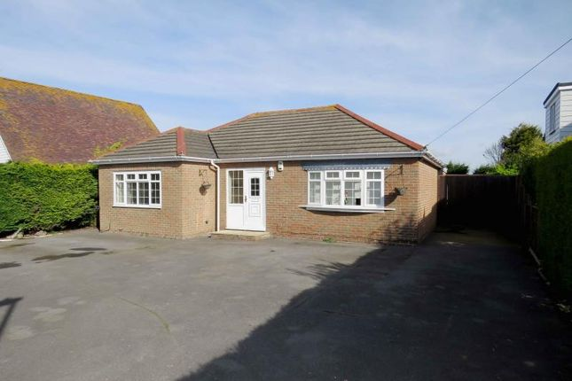 Thumbnail Detached bungalow for sale in Sandy Point Road, Hayling Island