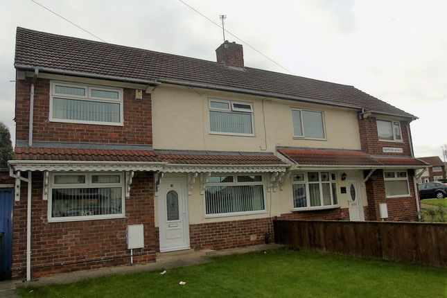 Thumbnail Semi-detached house for sale in Rampside Avenue, Roseworth, Stockton