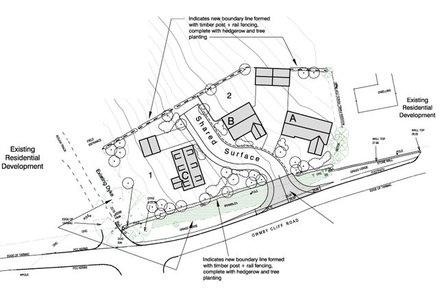 Thumbnail Land for sale in North Cliff Road, Owmby-By-Spital