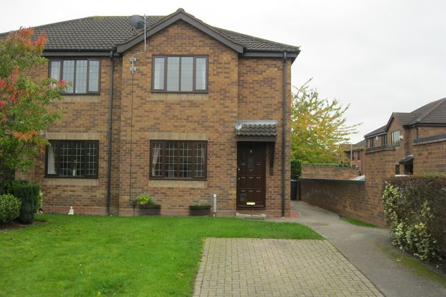 Thumbnail End terrace house to rent in Willowbank, Fazeley, Tamworth