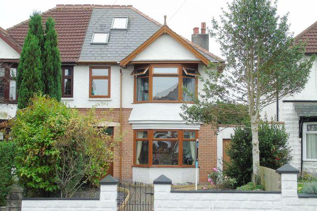 5 bed semi-detached house for sale in Redlands Road, Penarth