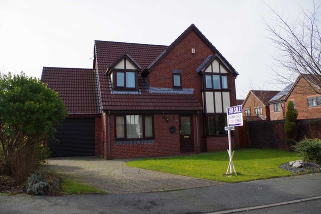 Thumbnail Detached house for sale in Evanstone Close, Horwich, Bolton