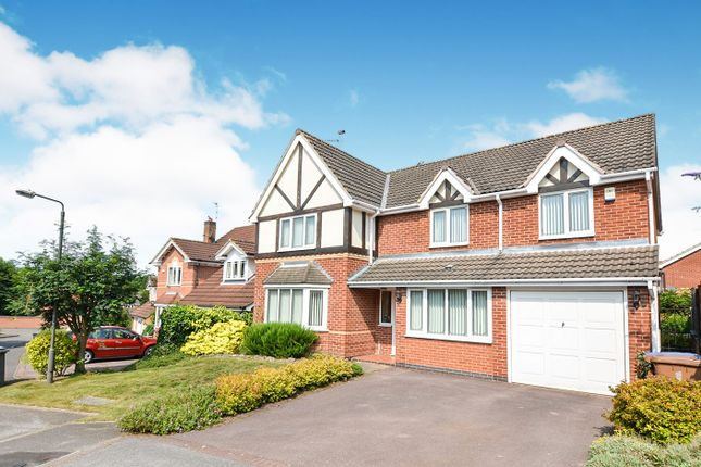 Thumbnail Detached house for sale in Pennycress Close, Littleover, Derby