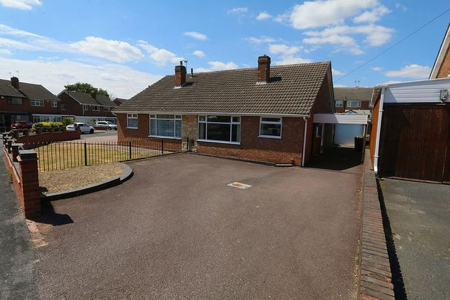Thumbnail Semi-detached bungalow for sale in 43, Hillside Crescent, Pelsall, Walsall, West Midlands