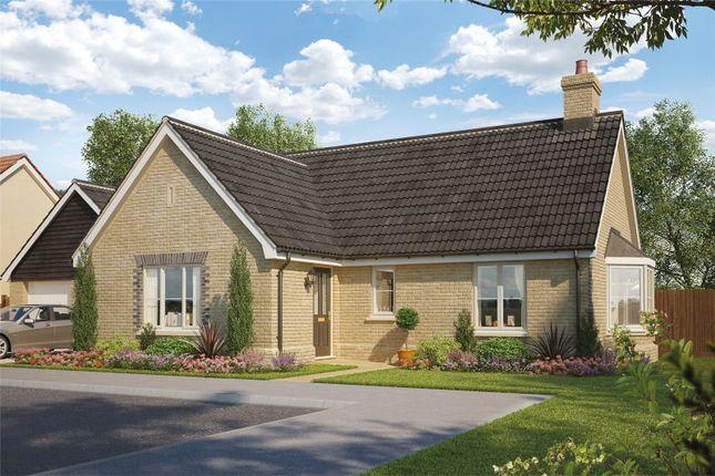 Thumbnail Detached bungalow for sale in Plot 43 Heronsgate, Blofield, Norwich, Norfolk