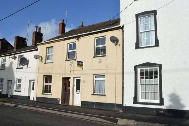 Thumbnail Terraced house for sale in East Street, Crediton, Devon
