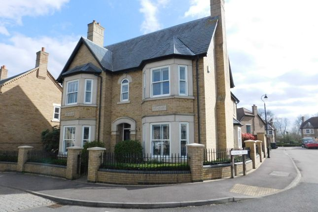 Thumbnail Detached house for sale in Bronte Avenue, Fairfield Park, Hitchin