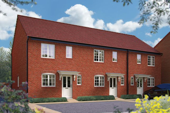 "Thumbnail Terraced house for sale in ""The Atherstone"" at Harbury Lane, Heathcote, Warwick"