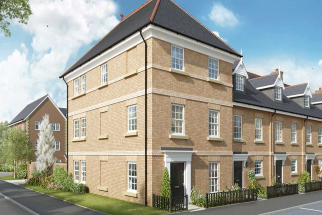 """Thumbnail Semi-detached house for sale in """"The Codnor"""" at The Ridgeway, Enfield"""