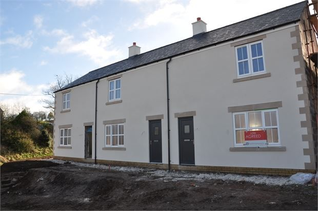 Terraced house for sale in The Forge, Gilsland, Cumbria.