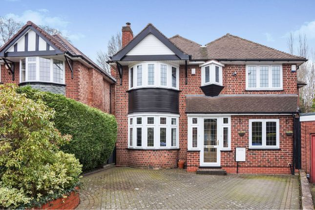 Thumbnail Detached house for sale in Berwood Farm Road, Sutton Coldfield