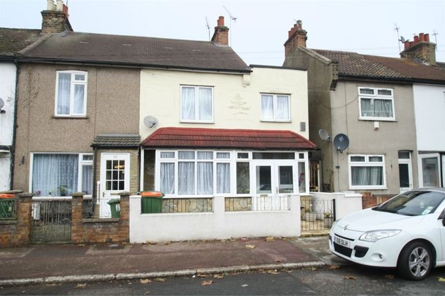 Thumbnail End terrace house for sale in Roman Road, East Ham, London