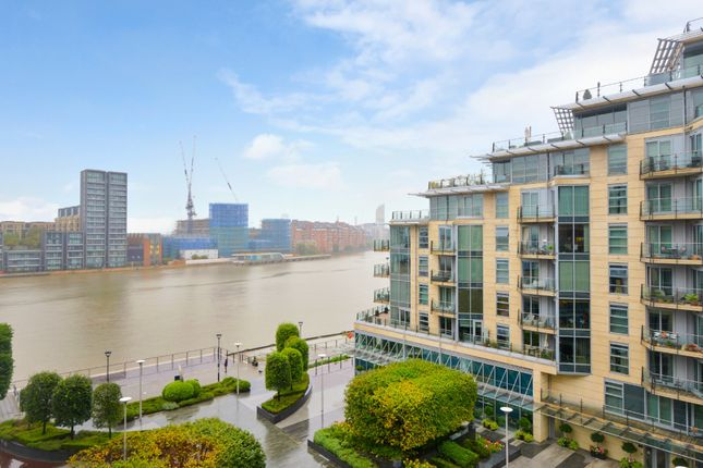 Thumbnail Flat for sale in Commodore House, Battersea Reach, London