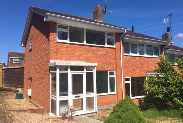 Thumbnail Property to rent in Bramble Lane, Crediton
