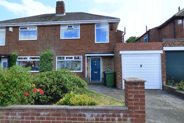 Thumbnail Semi-detached house for sale in Debdon Gardens, Newcastle Upon Tyne