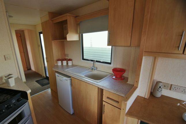 Kitchen of Ocean Edge Holiday Park, Heysham LA3