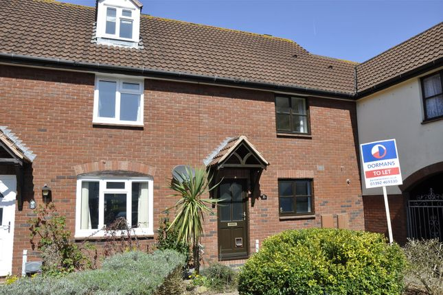 Thumbnail Terraced house to rent in Grasslands Drive, Pinhoe, Exeter