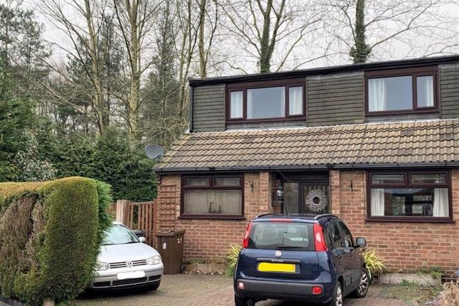 Thumbnail Semi-detached house for sale in Rosedale Drive, Leigh