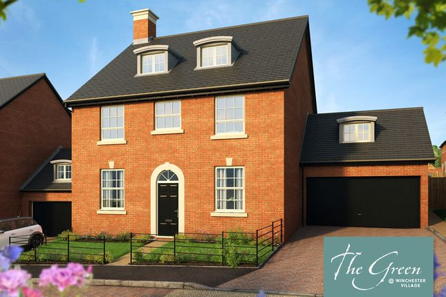 """Thumbnail Detached house for sale in """"The Knightly @ The Green"""" at Pitt Road, Winchester"""
