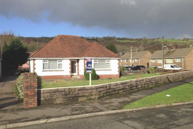 Thumbnail Detached bungalow for sale in Pontardawe Road, Clydach, Swansea