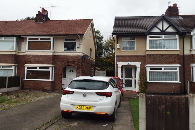 Thumbnail Semi-detached house for sale in Eastham Rake, Eastham, Bromborough, Wirral