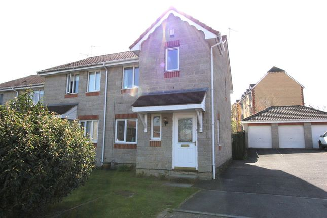 Thumbnail End terrace house to rent in Bampton Croft, Emersons Green, Bristol