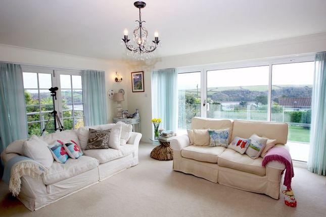 Lounge Views of Penruan Lane, St. Mawes, Truro TR2