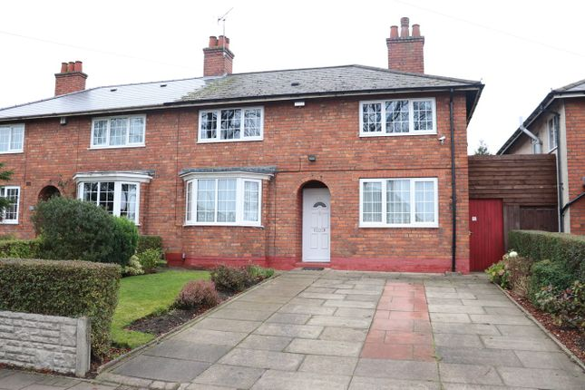 Thumbnail Semi-detached house for sale in Linden Road, Birmingham