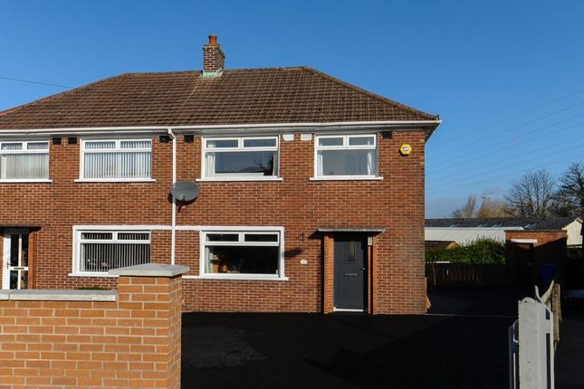 Thumbnail Semi-detached house for sale in Brentwood Park, Castlereagh, Belfast