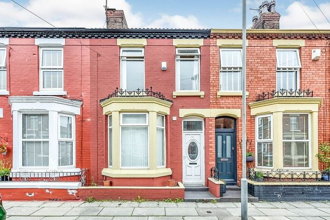 Thumbnail Terraced house to rent in Whitland Road, Liverpool