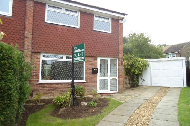 Thumbnail Semi-detached house to rent in Hendham Close, Hazel Grove, Stockport