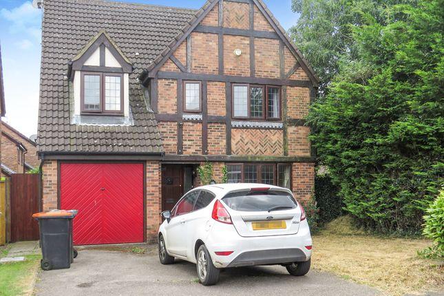 Thumbnail Detached house for sale in Prebendal Drive, Slip End, Luton