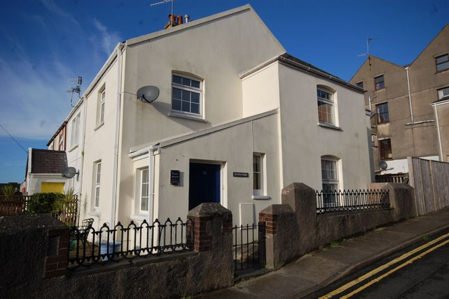 3 bed end terrace house for sale in Clareston Road, Tenby SA70