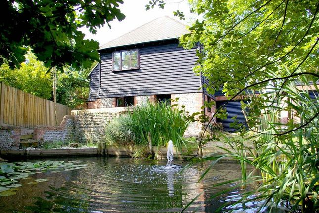 Thumbnail Detached house for sale in Chapel Barn, Vicarage Road, Hailsham