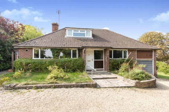 Thumbnail Bungalow for sale in Sherborne St John, Basingstoke, Hampshire