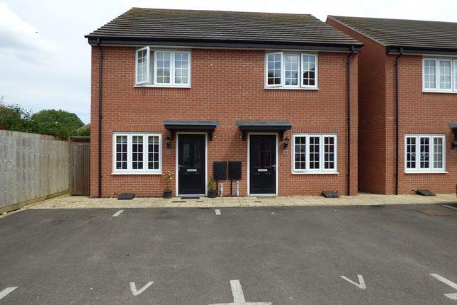 Thumbnail Semi-detached house to rent in John Clare Close, Oakham