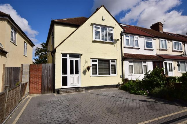 Thumbnail End terrace house for sale in Glenview, Abbey Wood, London