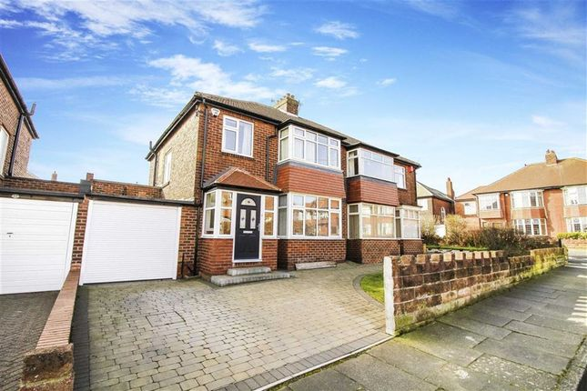 Thumbnail Semi-detached house for sale in Millfield Gardens, Tynemouth, Tyne And Wear