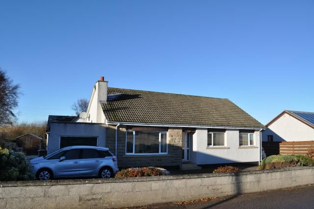 Thumbnail Bungalow for sale in Ardenair Dyke, Forres