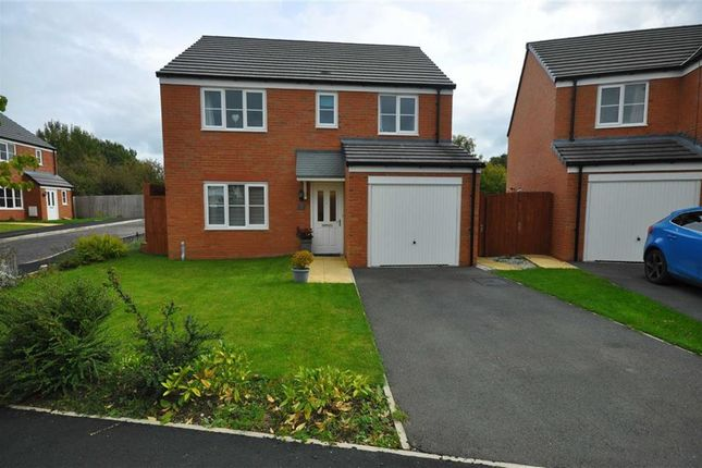 Thumbnail Detached house for sale in Ffordd Brannan, Buckley