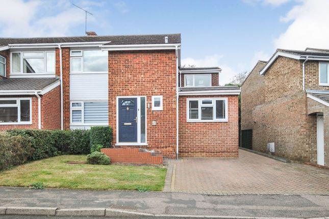 Thumbnail Semi-detached house for sale in Elmwood, Sawbridgeworth, Hertfordshire