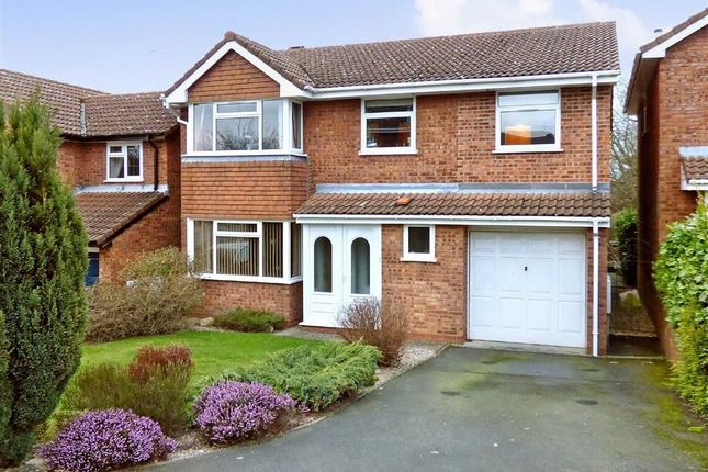 Thumbnail Detached house for sale in St Patrick Close, Cannock, Staffordshire