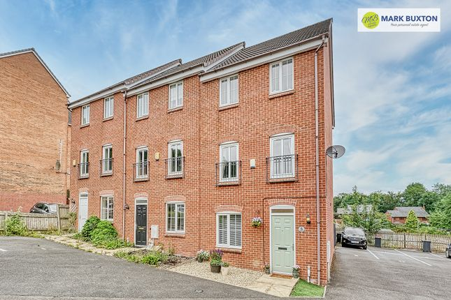 Thumbnail Semi-detached house for sale in Chervil Close, Newcastle Under Lyme