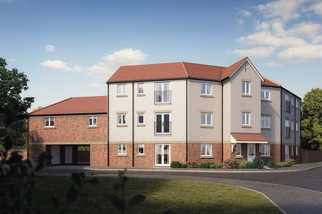 """Thumbnail Flat for sale in """"Wellington Court 1 Bed"""" at Pennings Road, Tidworth"""