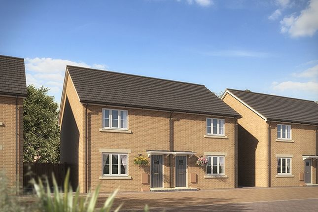 "Thumbnail Terraced house for sale in ""The Mongoose"" at Clarks Close, Yeovil"