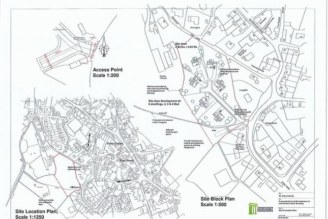 Thumbnail Land for sale in Land Off Park View, Broseley, Shropshire