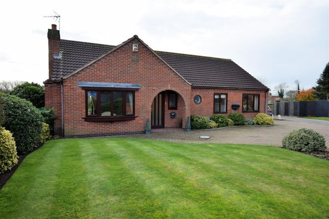 Thumbnail Detached bungalow for sale in Caunton Road, Hockerton, Southwell