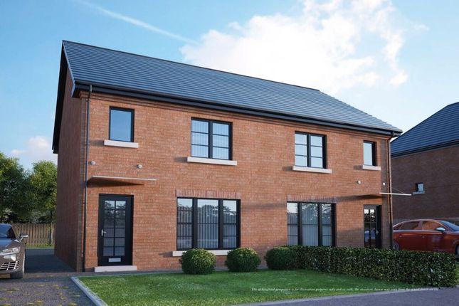 Thumbnail Semi-detached house for sale in Highgrove, Tudor Road, Carrickfergus
