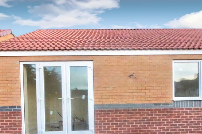 Rear View of Byron Close, Dinnington, Sheffield S25