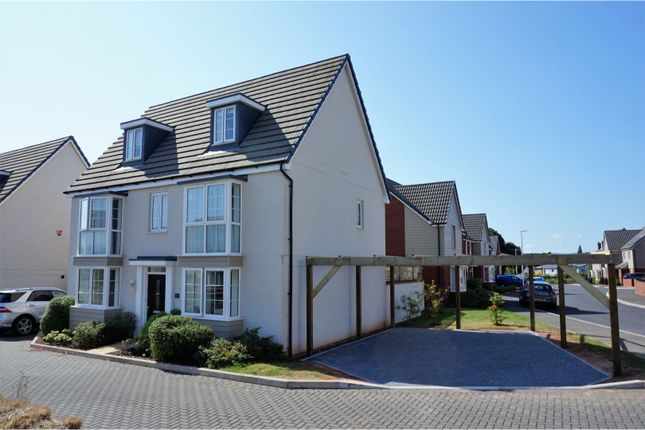 Thumbnail Detached house for sale in Newcourt Way, Exeter